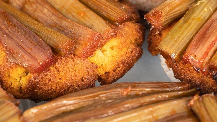 Almond polenta muffin, Violet Bakery, London