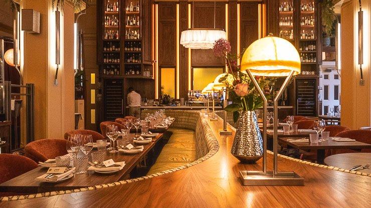 Main dining area, Neptune Restaurant, London