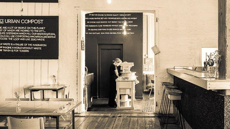 Interior, Silo Restaurant, Brighton
