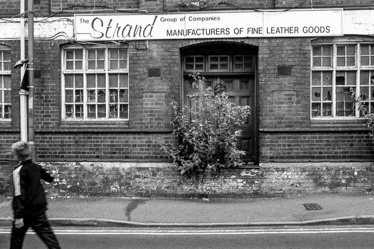 Street view of closed building, Walsall