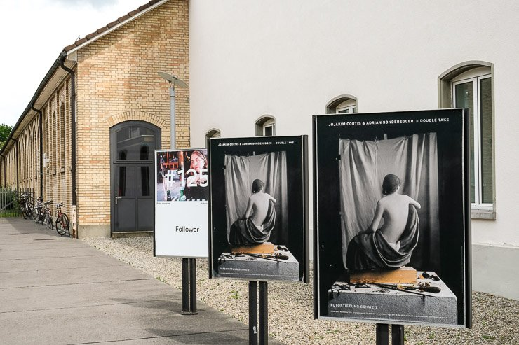 Advertising for Cortis & Sonderegger exhibition at Fotostiftung Schweiz