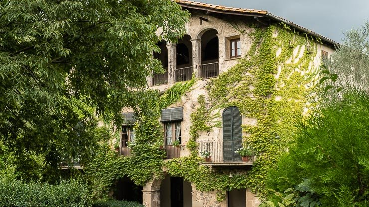 The farmhouse, Les Cols, Catalonia