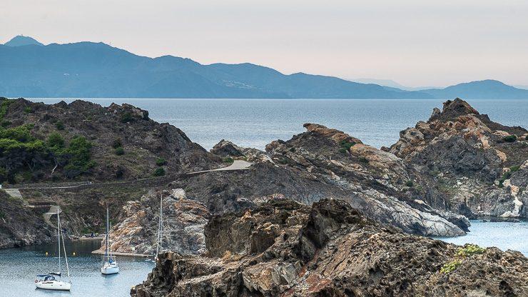 View from Cap de Creus, Costa Brava, Catalonia