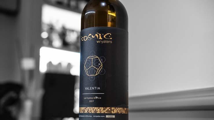 Bottle of Valentia, Cosmic Vinyaters, Restaurant Maran, Girona