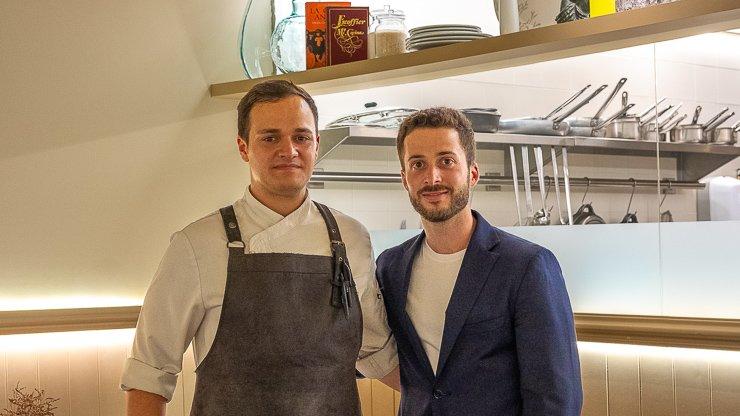 Juanjo Marques and Ferran Ansesa, Restaurant Maran, Girona