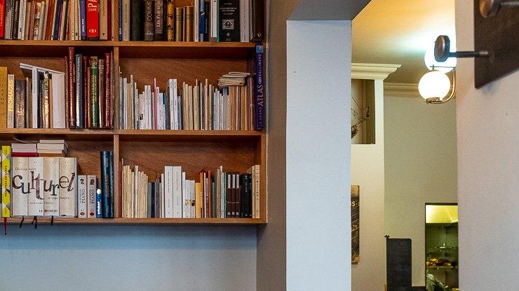 The small library, Le Baratin, Paris