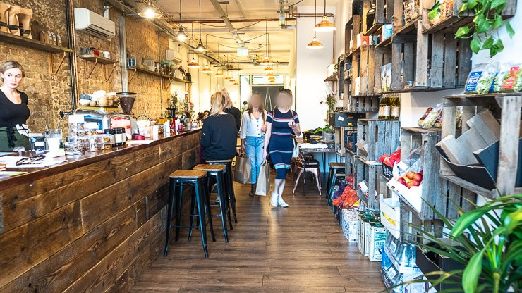 Bar, Plant Hub & Academy, London