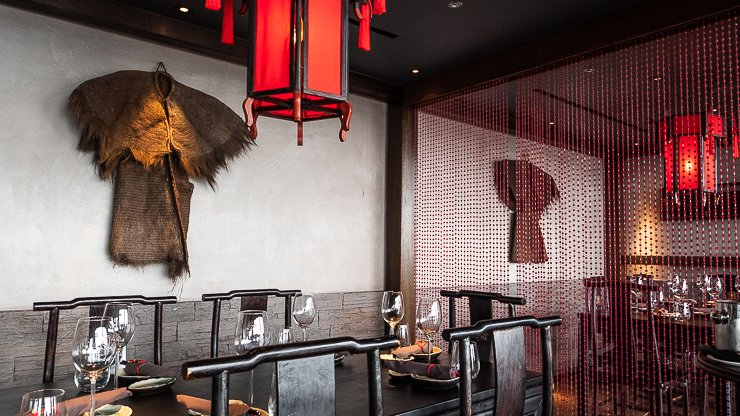 Private dining area, Hutong