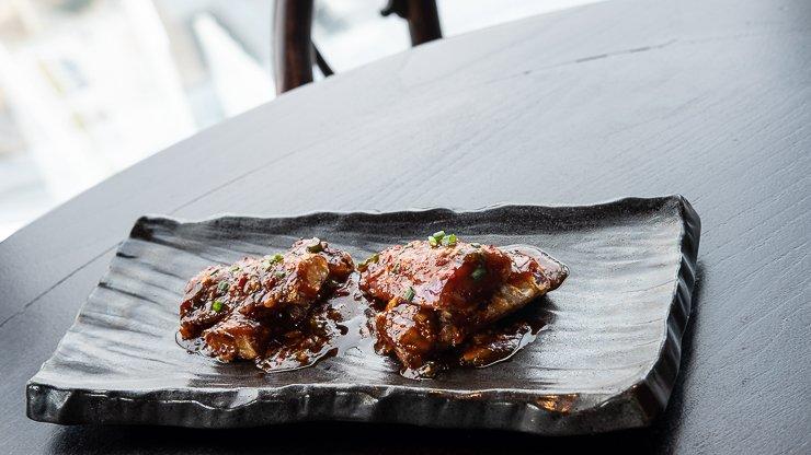 Spicy Aromatic Aubergine Tempura, Hutong