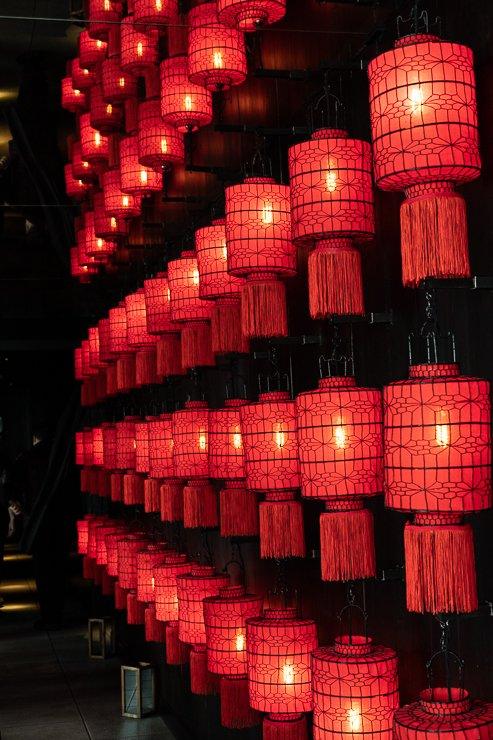 Lantern corridor, Hutong