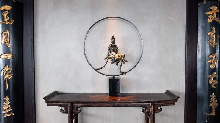 The Iron Goddess of Mercy, Guanyin, Hutong
