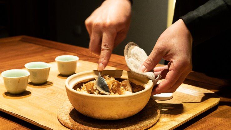 Stirring rice dish, Fu He Hui, Shanghai