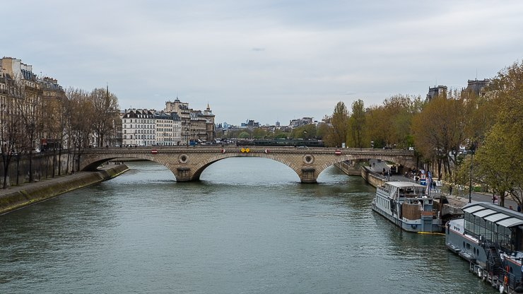 View from Pont Marie, Paris