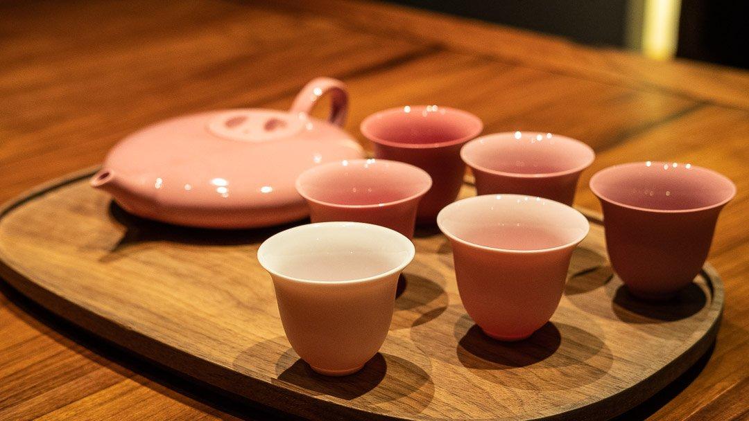 Tea paring, Fu He Hui, Shanghai