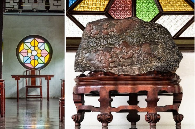 Carved stone, Lion Grove Garden, Suzhou