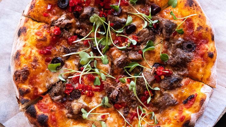 Pizza, Mercato, The Bund