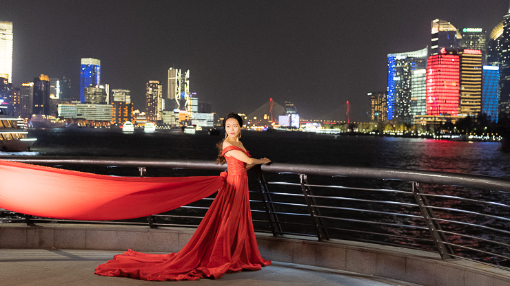 Wedding pics, Shanghai, The Bund