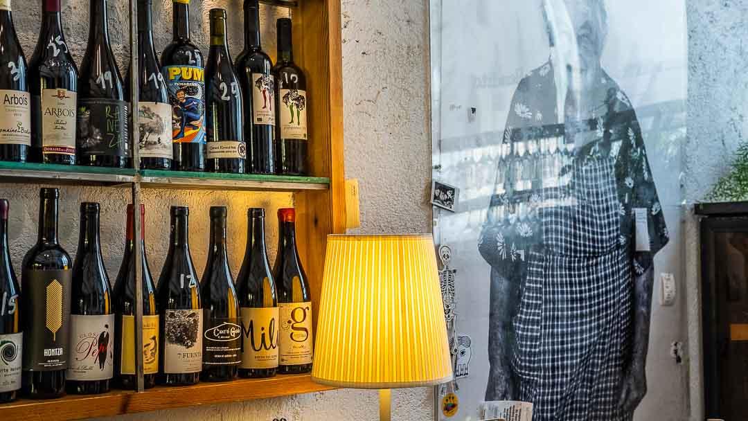 Bottles of wine, Benito, Madrid