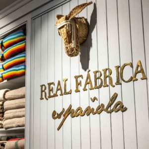 Sign for Real Fabrica Espanola, Madrid
