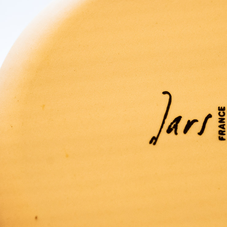 Signature on plate, Flor Restaurant