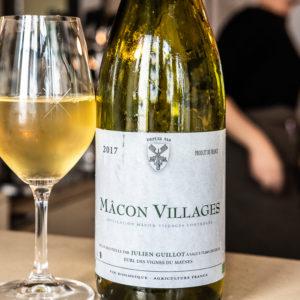 Bottle of Macon Villages, Clamato, Paris