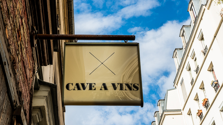 Sign, Cave a Vins, Septime, Paris