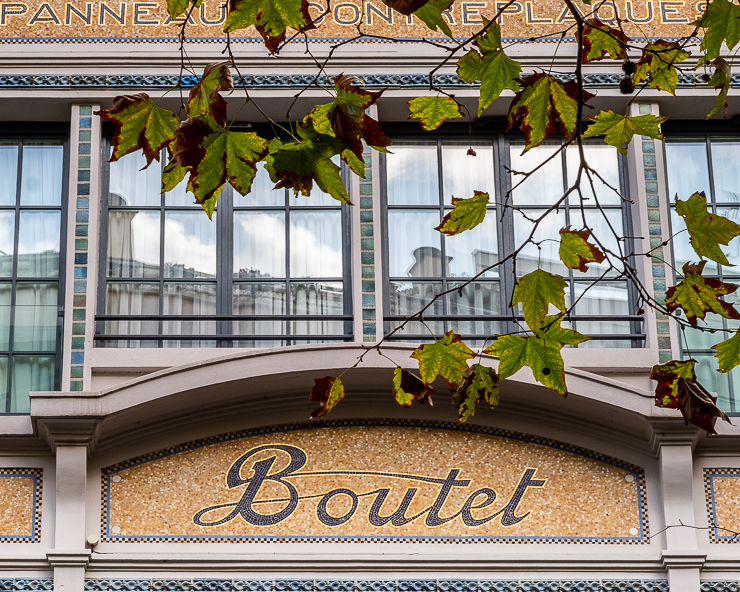 Boutet facade, Paris
